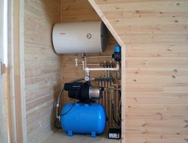 Бойлер для горячего водоснабжения дома